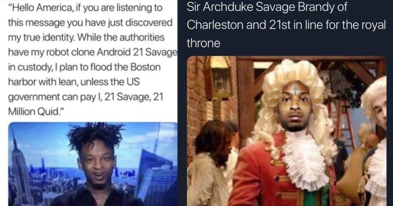 21 savage immigration memes