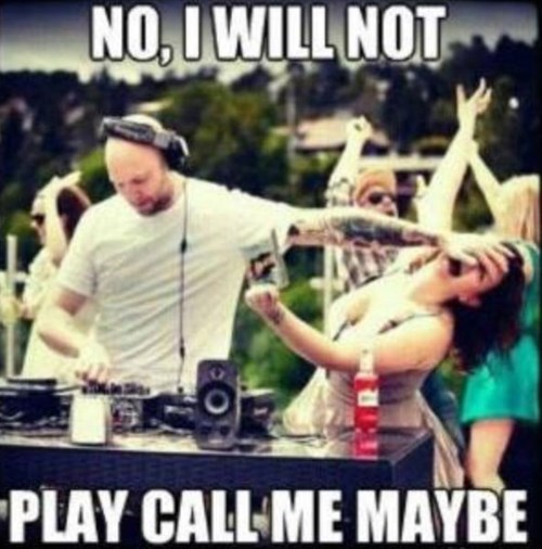 dj booth,carly rae jepsen,call me maybe