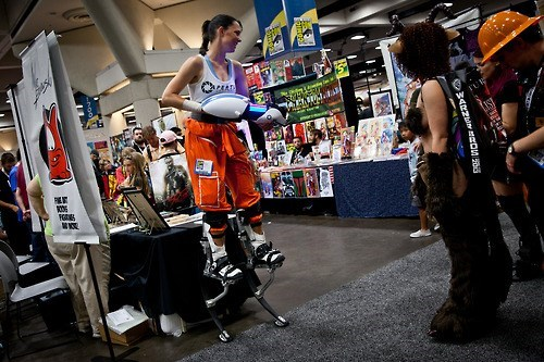 cosplay sdcc 2013 portal 2 - 7677197312