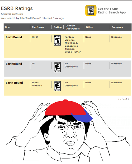 wtf times have changed esrb earthbound - 7677200640