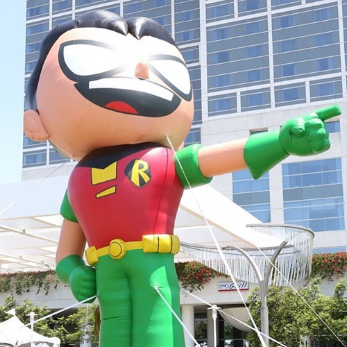 teen titans go DC robin batman sdcc 2013 - 7677200896