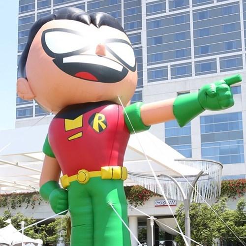 teen titans go DC robin batman sdcc 2013 - 7677200896