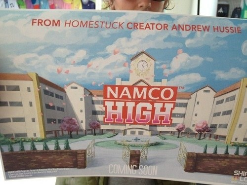 dating sim Video Game Coverage homestuck sdcc 2013 namco high - 7677235200