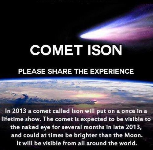 comet ison science funny space - 7677328384