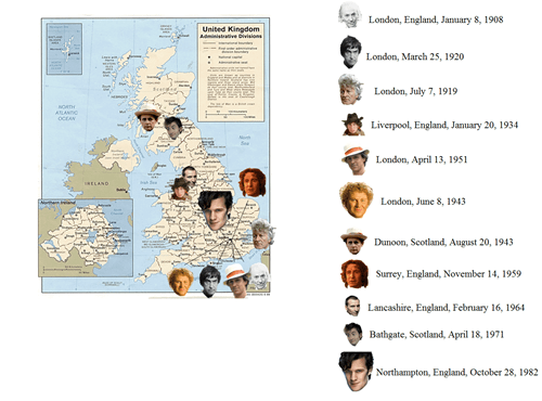 doctor who,Maps