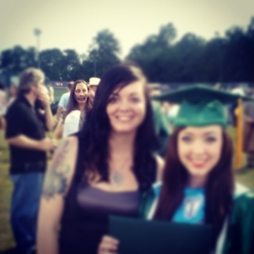 photobomb graduation zombie funy - 7677423104