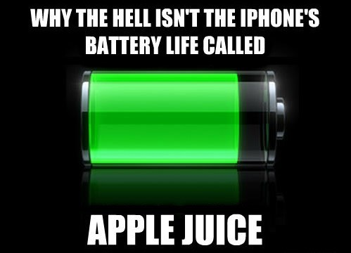 iPhones ran out of batteries battery life apple funny g rated AutocoWrecks