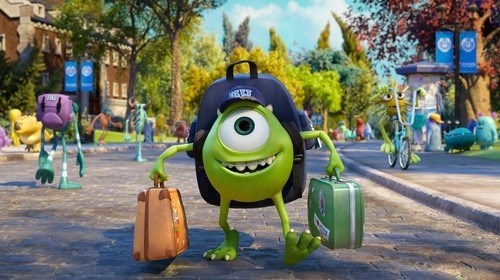 monsters university Movie funny college