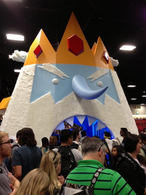 cartoons ice king adventure time - 7677602304