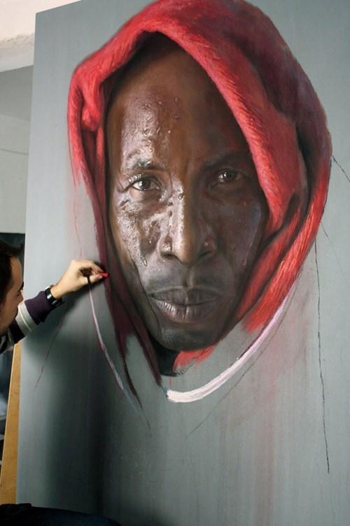 drawing art realistic portrait - 7677613056