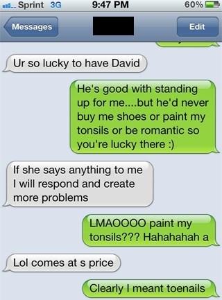 boyfriends tonsils funny - 7677643264
