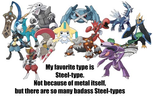 Pokémon steel types - 7677667840