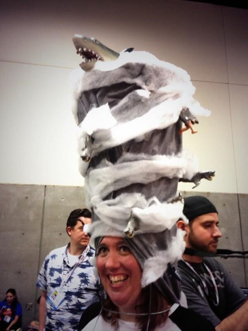sharknado cosplay sdcc 2013 - 7677671168