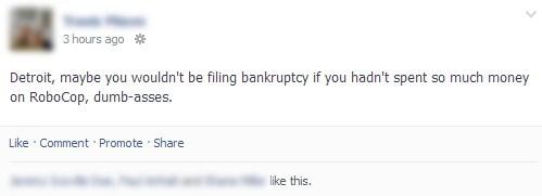 detroit bankruptcy detroit robocop - 7677708800