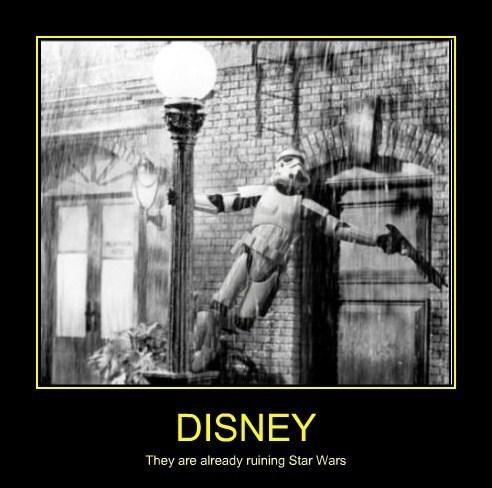 disney star wars musicals stormtrooper singin in the rain - 7677758720