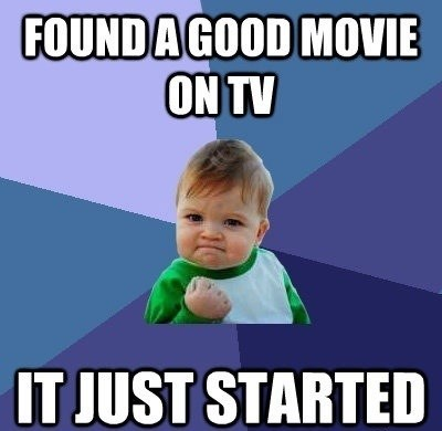 movies,TV,success kid