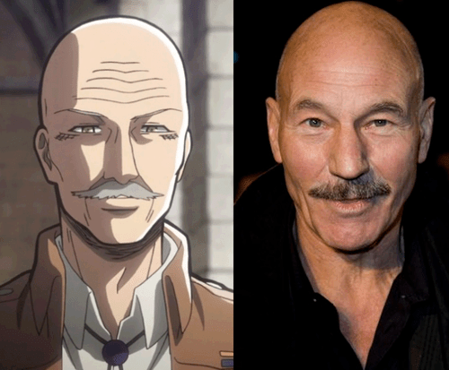 dot pixis totally looks like funny patrick stewart - 7677812736