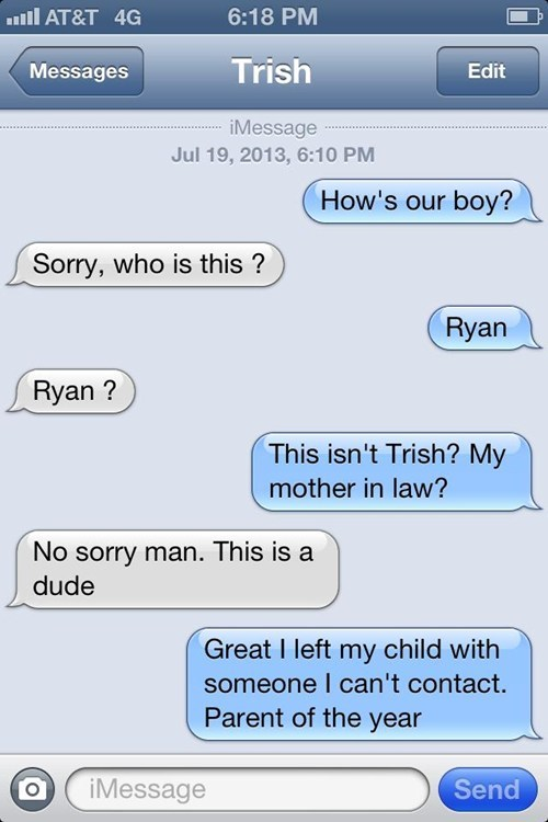 wrong number mother in-laws parent of the year in laws funny g rated AutocoWrecks
