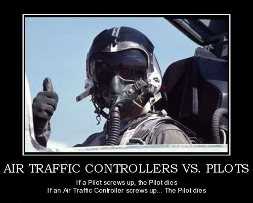 bad idea pilot air traffic controller funny