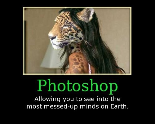 leopard,photoshop,funny