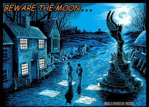 BEWARE THE MOON . . . HALLOWEEN MIKE