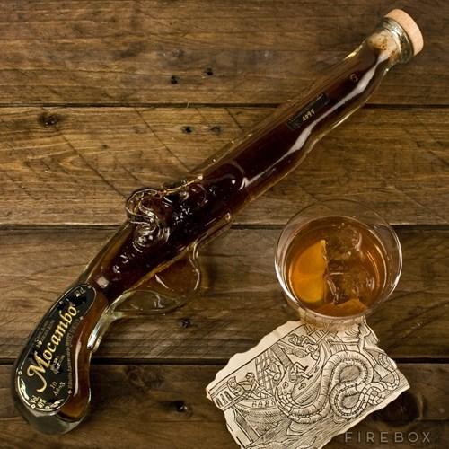 pistol Rum Pirate funny - 7677951232