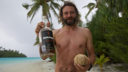 good idea castaway Rum funny - 7677994752