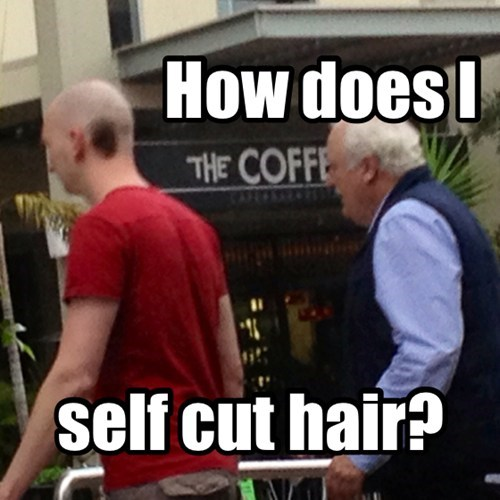 Self hair cuts