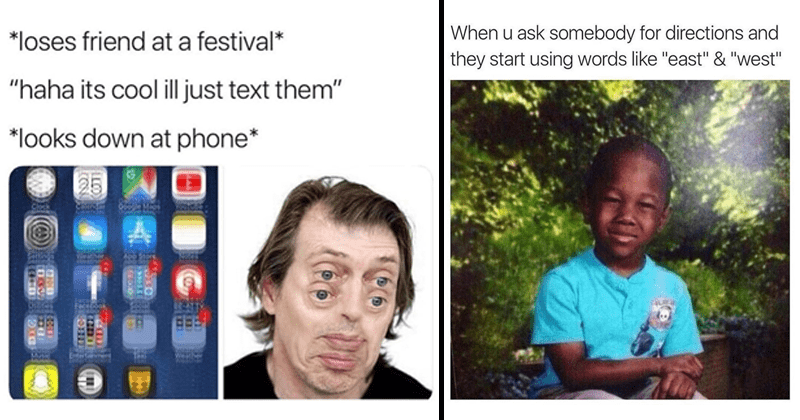 Funny memes, star wars memes, music festivals, work, work memes.