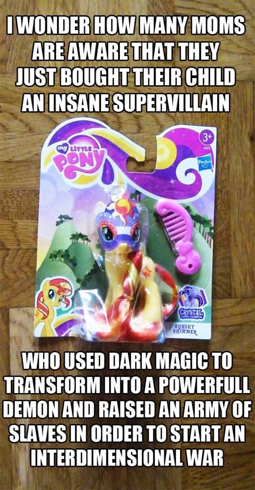 toys villains sunset shimmer - 7678842624
