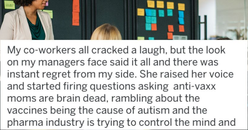 tifu employee discovers boss is anti-vaxxer in worst way