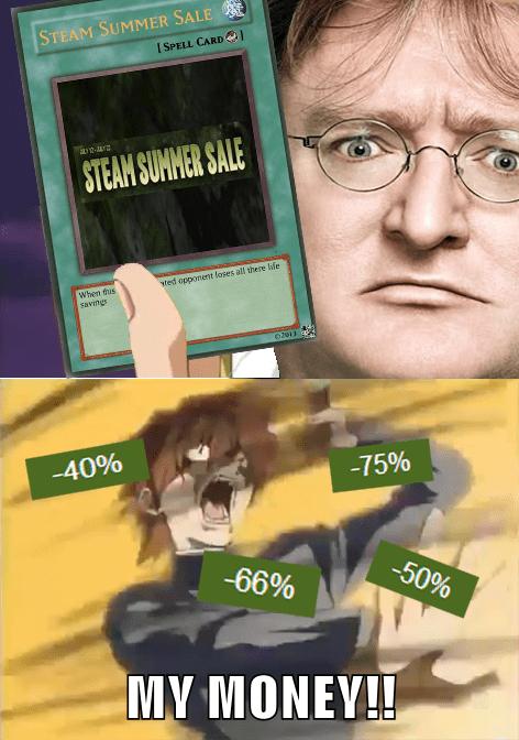 steam,steam sale,Yu Gi Oh,gaben