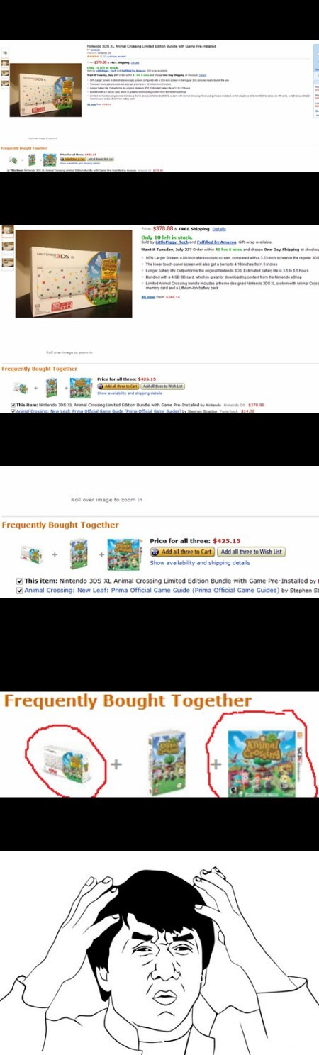 amazon wtf Videogames animal crossing funny - 7680361728