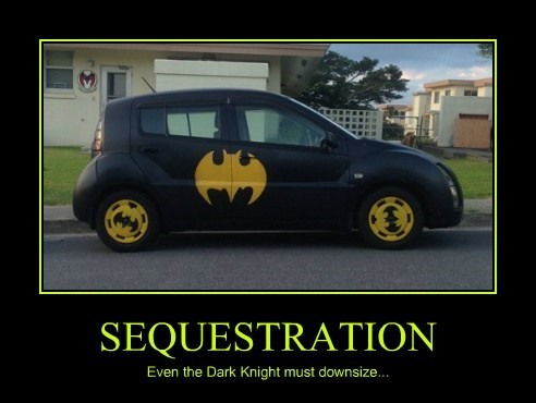 batmobile,sequester,batman,funny
