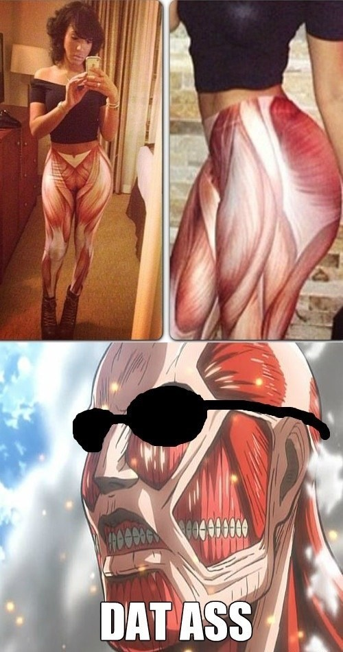 anime attack on titan dat ass - 7680829696