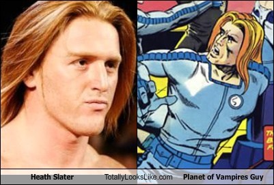 heath slater,planet of the vampires,totally looks like,funny