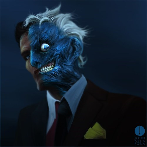 two face DC harvey dent Fan Art - 7681057792