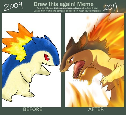 Pokémon art typhlosion drawings - 7681376768