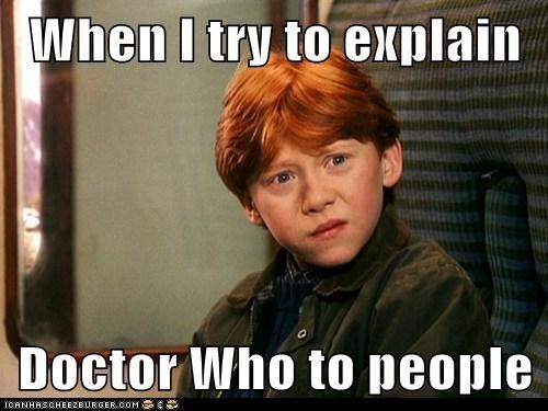 fandom doctor who Ron Weasley - 7681472768