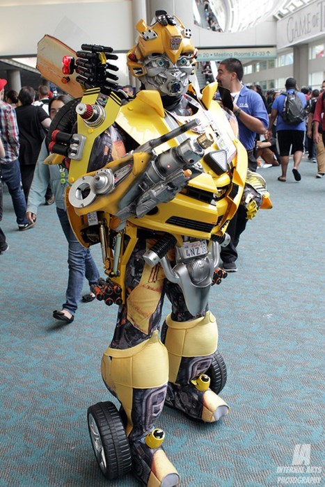 transformers cosplay Bumblebee sdcc 2013 - 7681656832