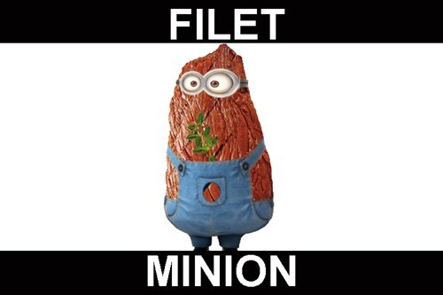minions despicable me puns filet mignon funny - 7681663232