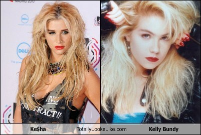 keha Kelly Bundy totally looks like funny