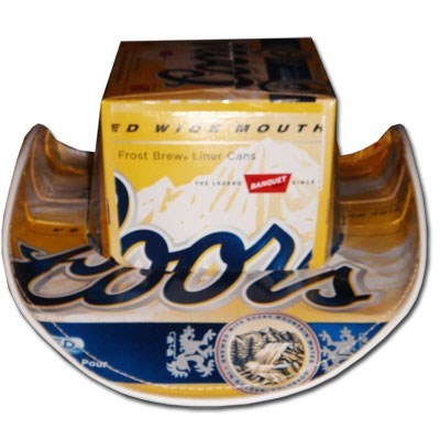 coors cowboy hat funny - 7681991168