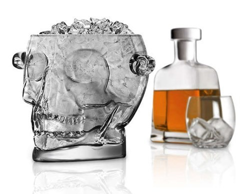 whiskey skull glass funny