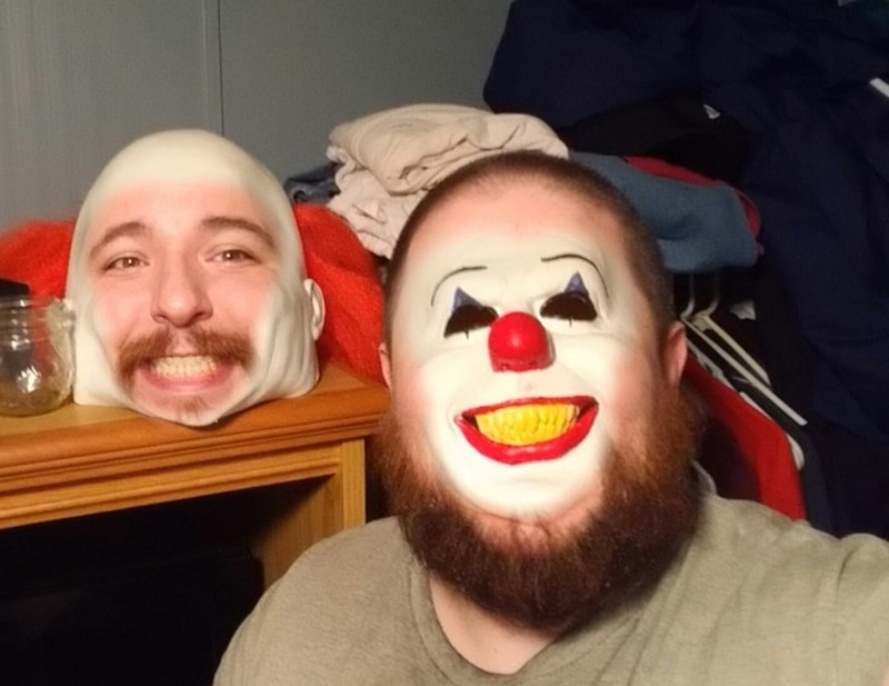 creepy and funny face swap