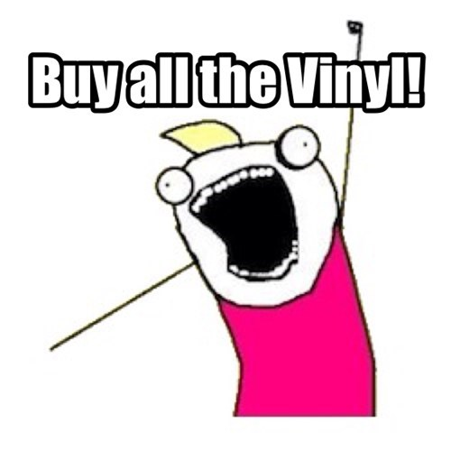 vinyl,Joy,payday,purchase