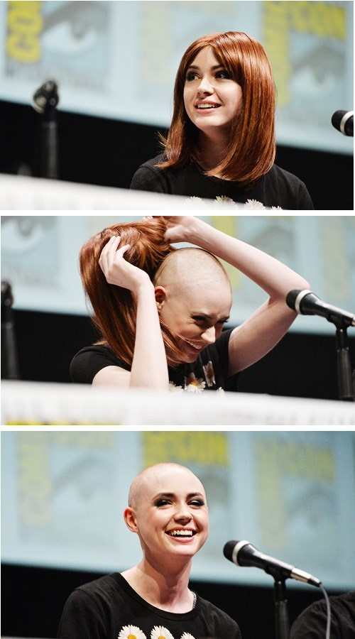 comic con karen gillan guardians of the galaxy doctor who - 7683279104