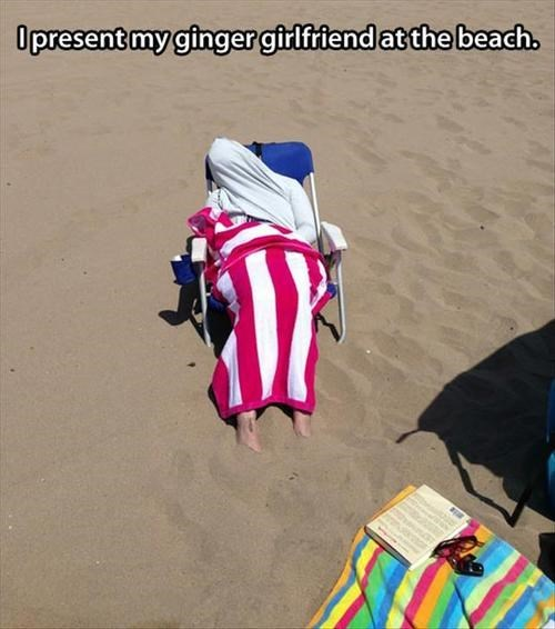 ginger mummy beach protection poorly dressed g rated - 7683313664
