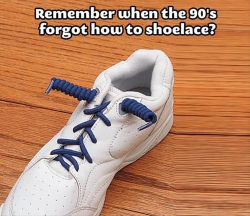 shoelaces throwback 90s - 7683315200