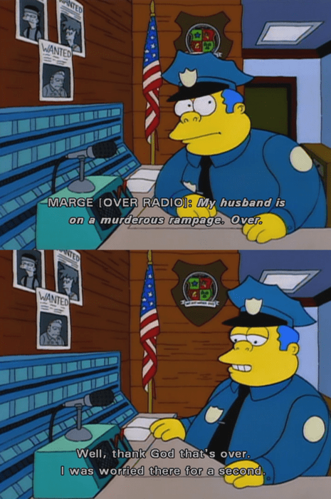 cops over the simpsons - 7683437056